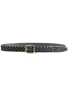 Dolce & Gabbana Calf Hair and Leather Belt