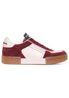 Dolce & Gabbana Calfskin Nappa Leather Miami Sneakers