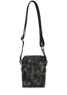 Dolce & Gabbana Camouflage Nylon Crossbody Bag