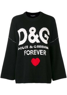 Dolce & Gabbana cashmere D&G forever jumper