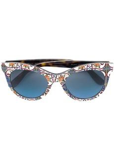 Dolce & Gabbana cat eye frame sunglasses