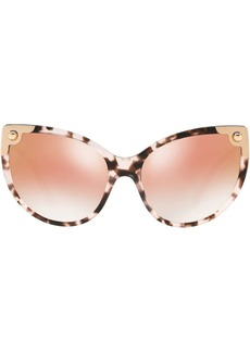 Dolce & Gabbana cat-eye tinted sunglasses
