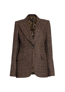 Dolce & Gabbana Check Single Button Jacket