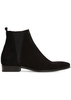 Dolce & Gabbana Chelsea Suede Zipped Boots
