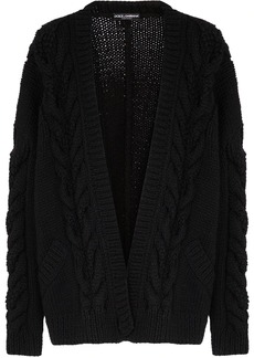 Dolce & Gabbana chunky-knit long-sleeve cardigan