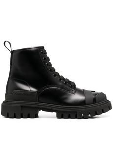 Dolce & Gabbana chunky trekking boots