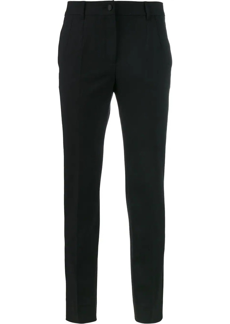 Dolce & Gabbana classic slim fit trousers