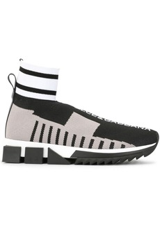 Dolce & Gabbana colour-block sock sneakers