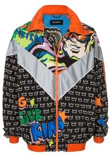 Dolce & Gabbana comic print track jacket