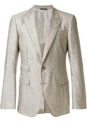 Dolce & Gabbana contrast stitched blazer