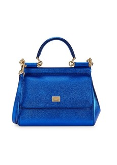 Dolce & Gabbana Convertible Leather Satchel
