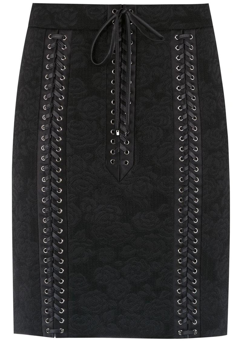 Dolce & Gabbana corset style lace skirt