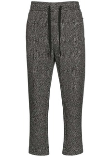 Dolce & Gabbana Cotton & Wool Jersey Jogging Pants