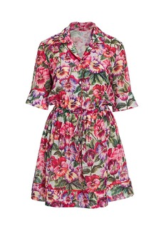 Dolce & Gabbana Cotton Batiste Shirtdress