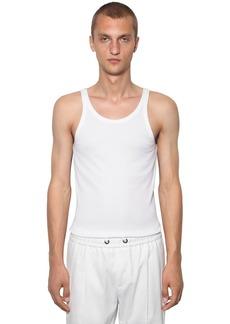 Dolce & Gabbana Cotton Jersey Tank Top