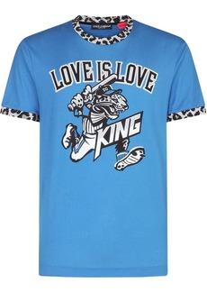 Dolce & Gabbana Love Is Love King-print T-shirt