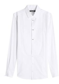 Dolce & Gabbana Cotton Tuxedo Shirt