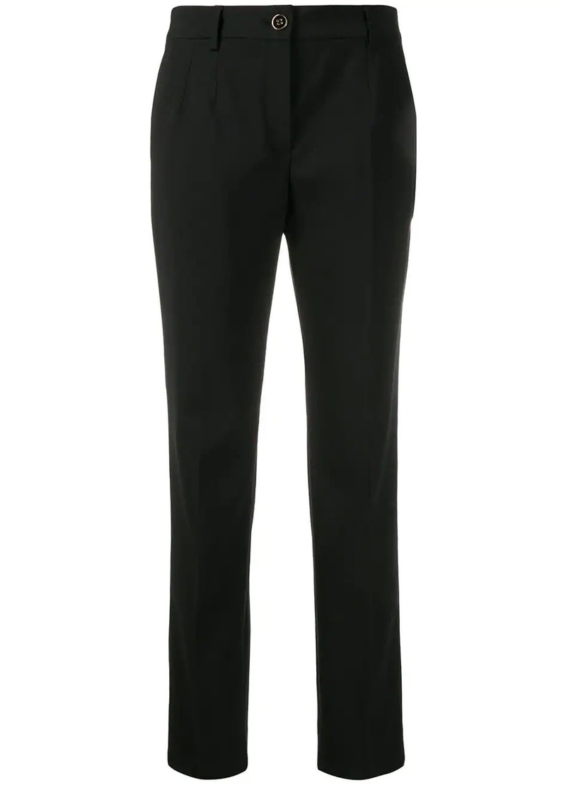 Dolce & Gabbana cropped slim-fit trousers