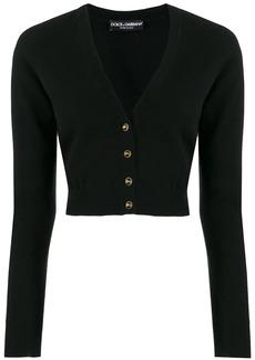 Dolce & Gabbana cropped V-neck cardigan