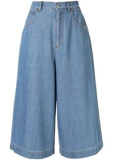 Dolce & Gabbana cropped wide-leg jeans