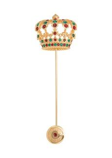 Dolce & Gabbana crown brooch