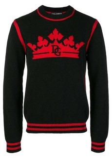 Dolce & Gabbana crown logo jumper