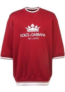 Dolce & Gabbana crown logo sweatshirt