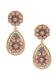 Dolce & Gabbana crystal detailed statement earrings