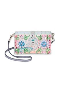 Dolce & Gabbana Crystal-Embellished Plexiglass Shoulder Bag