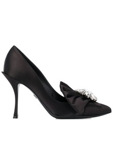 Dolce & Gabbana crystal embellished pumps