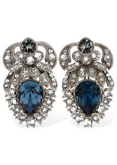 Dolce & Gabbana Crystal Stud Clip-on Earrings