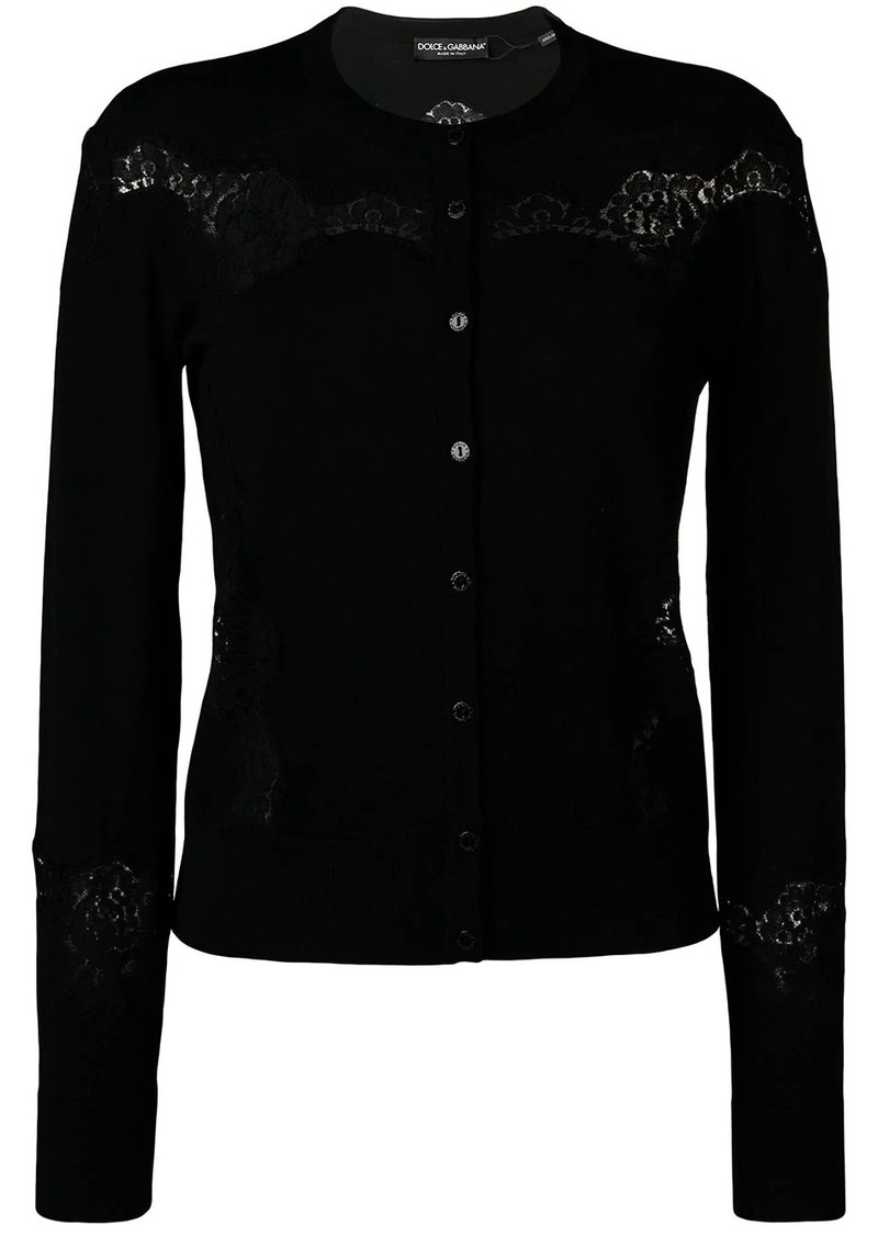 Dolce & Gabbana cut-out detail cardigan