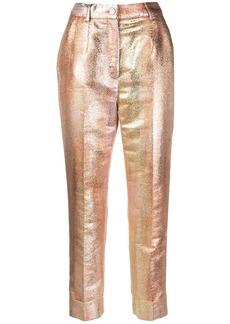 Dolce & Gabbana degradé-effect cropped trousers