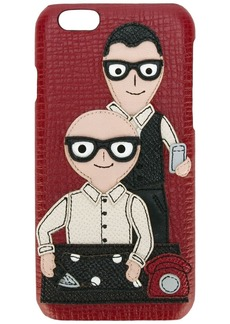 Dolce & Gabbana Designers patch iPhone 6 case