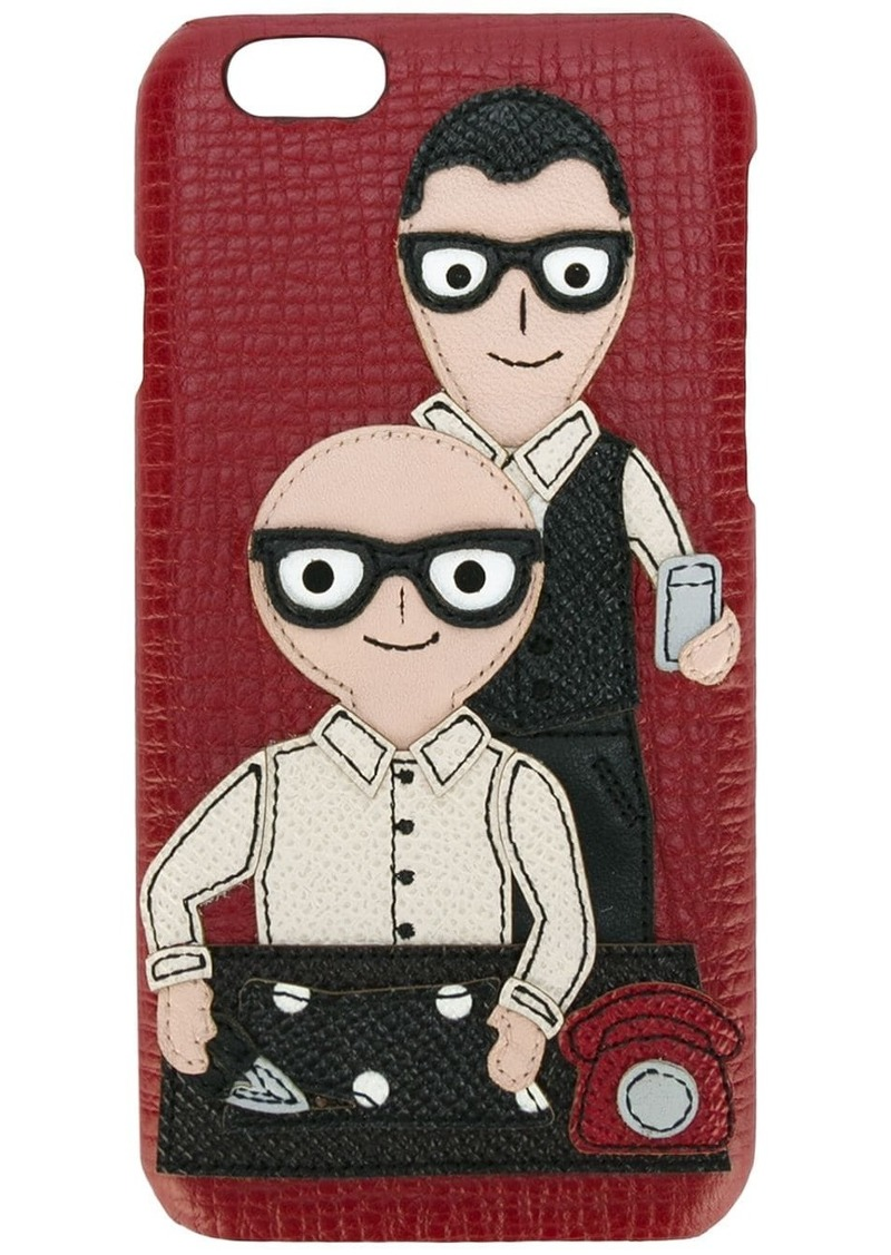 Dolce & Gabbana Designers patch iPhone 6 case