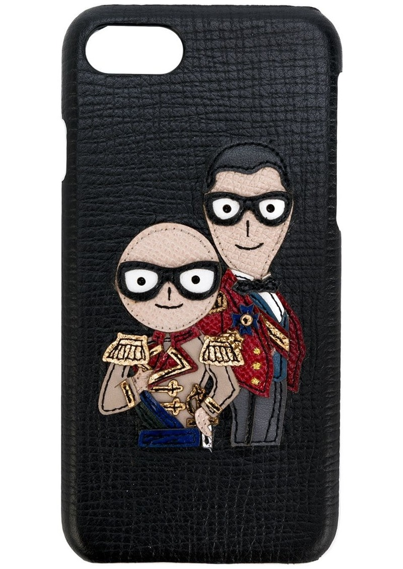 Dolce & Gabbana designer's patch iphone 7 case