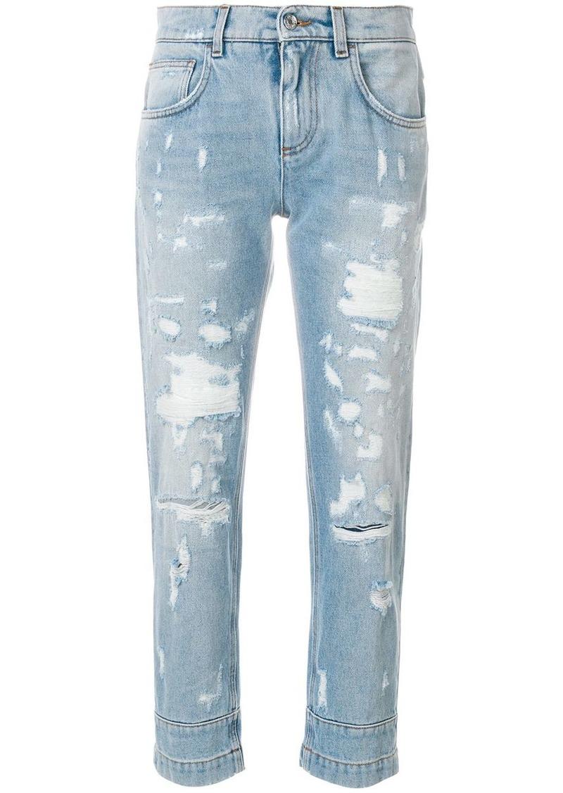 Dolce & Gabbana destroyed boyfriend jeans