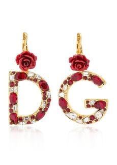 Dolce & Gabbana D&g Crystal Earrings