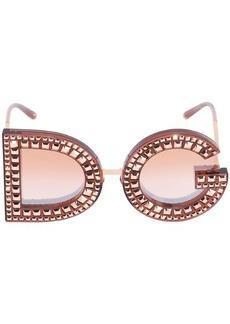 Dolce & Gabbana Dg Crystals Embellished Sunglasses
