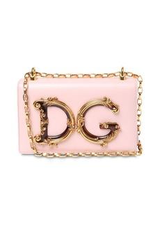 Dolce & Gabbana Dg Girls Barocco Leather Shoulder Bag