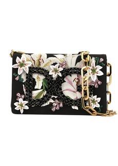 Dolce & Gabbana DG Girls floral-print shoulder bag