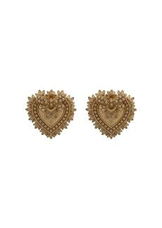 Dolce & Gabbana DG heart motif cufflinks