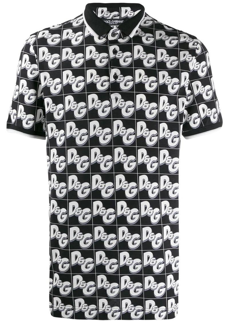 Dolce & Gabbana DG logo polo shirt