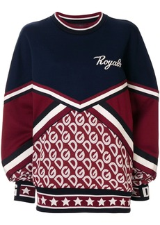 Dolce & Gabbana DG logo print sweatshirt