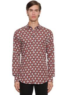 Dolce & Gabbana Dg Logo Printed Shirt