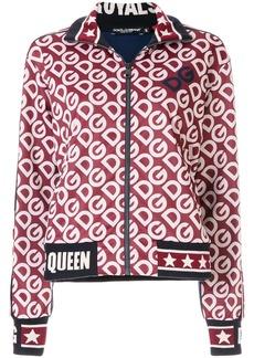 Dolce & Gabbana DG logo zipped sweatshirt