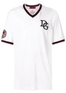 Dolce & Gabbana DG patch baseball T-shirt