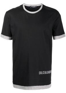 Dolce & Gabbana DG print T-shirt