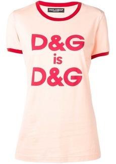 Dolce & Gabbana D&G print T-shirt