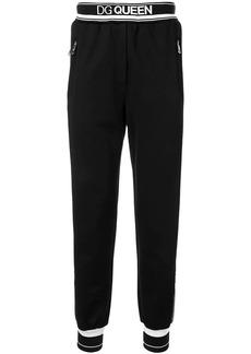 Dolce & Gabbana DG Queen track pants